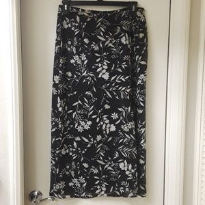 Bice' Floral Pattern Skirt